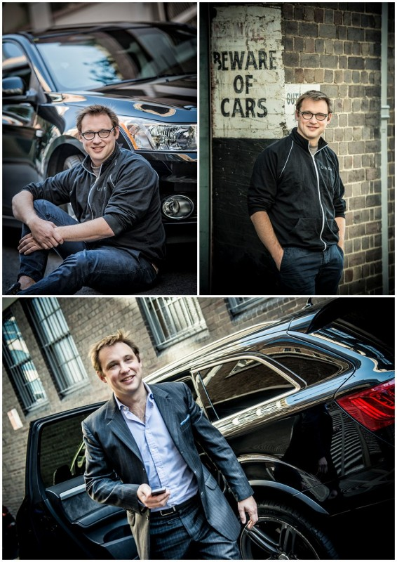 Corporate Portrait Photography Uber Taxi 1