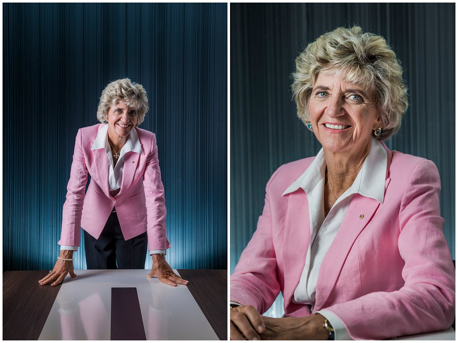 Bonnie Boezeman AO Corporate Portrait